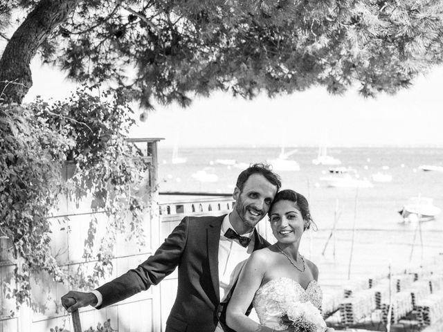 Le mariage de François et Hadia à Lège-Cap-Ferret, Gironde 85