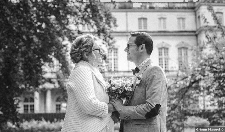 Le mariage de Damien et Marie-Aude à Nancy, Meurthe-et-Moselle
