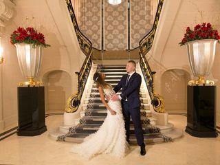 Le mariage de Samia et François