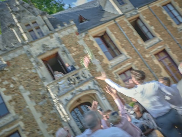 Le mariage de John et Elody à Tuffé, Sarthe 45