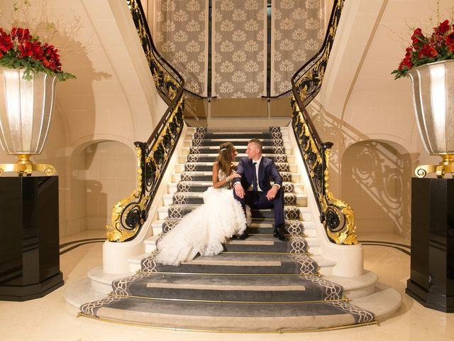 Le mariage de François et Samia à Paris, Paris 1