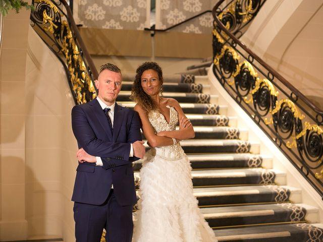 Le mariage de François et Samia à Paris, Paris 5