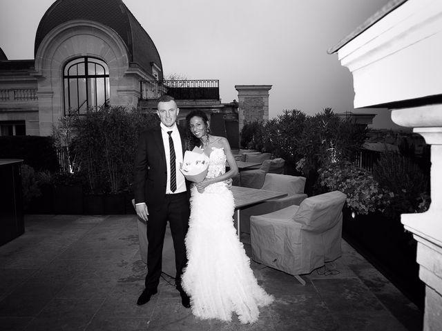 Le mariage de François et Samia à Paris, Paris 9