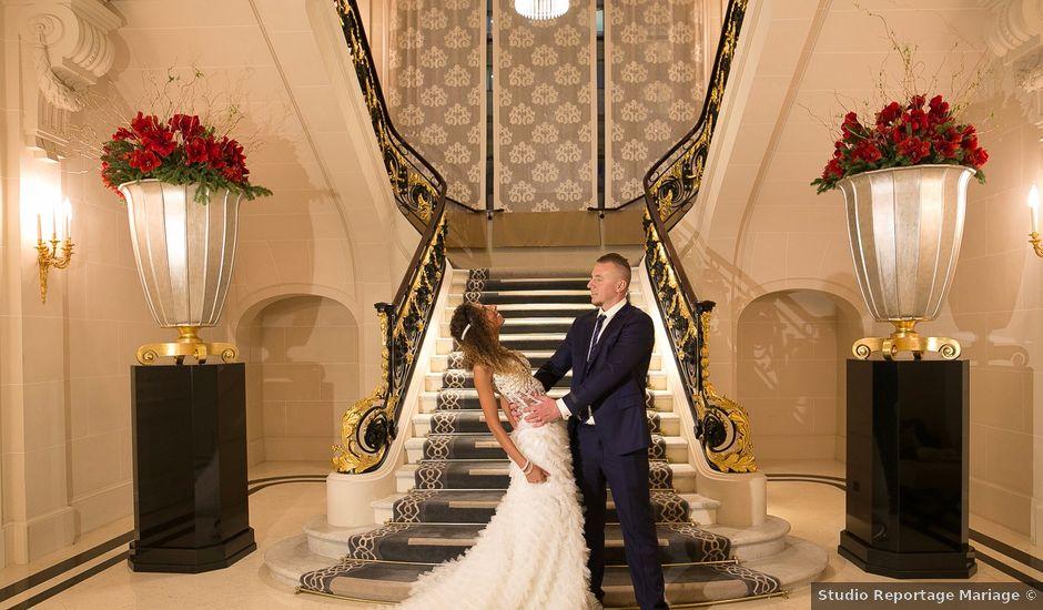 Le mariage de François et Samia à Paris, Paris