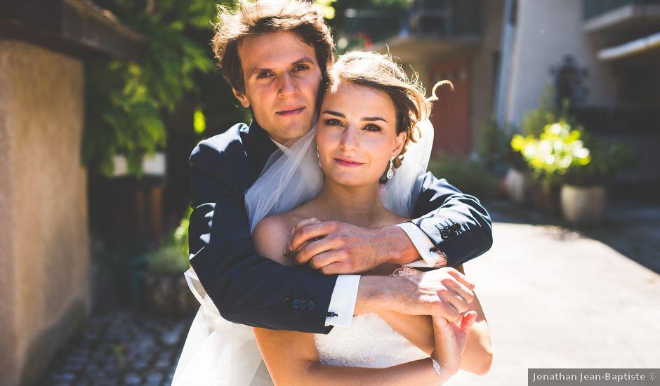 Le mariage de Benjamin et Kéren à Ville-la-Grand, Haute-Savoie