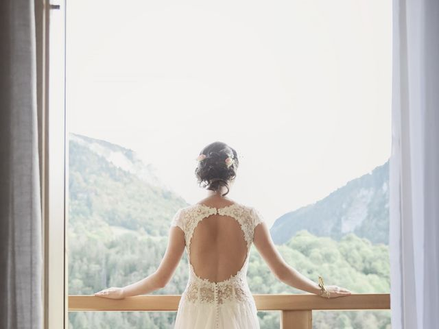 Le mariage de Laurent et Léa à Mieussy, Haute-Savoie 12