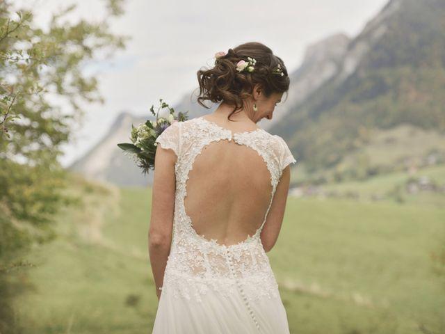 Le mariage de Laurent et Léa à Mieussy, Haute-Savoie 15