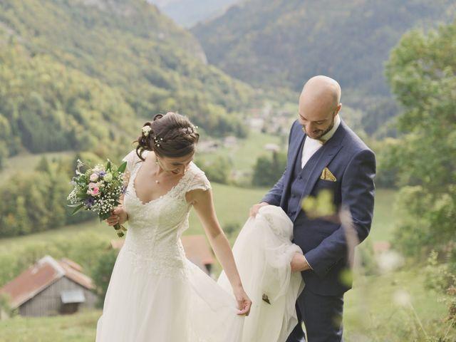 Le mariage de Laurent et Léa à Mieussy, Haute-Savoie 19