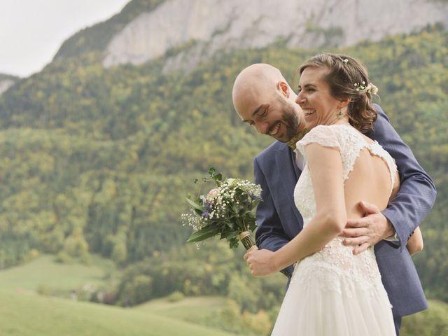 Le mariage de Laurent et Léa à Mieussy, Haute-Savoie 20