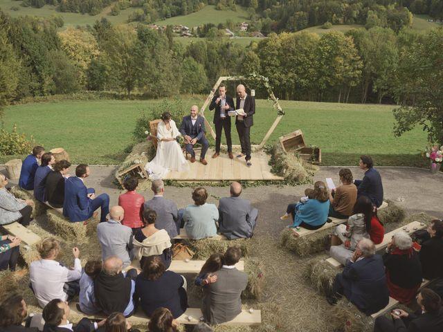 Le mariage de Laurent et Léa à Mieussy, Haute-Savoie 24
