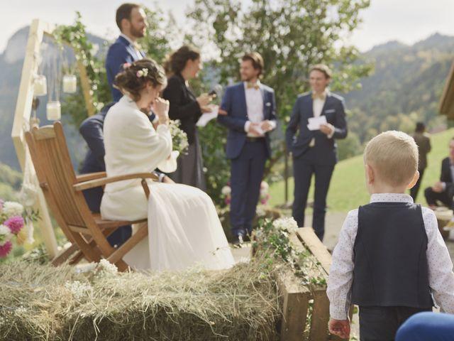 Le mariage de Laurent et Léa à Mieussy, Haute-Savoie 27