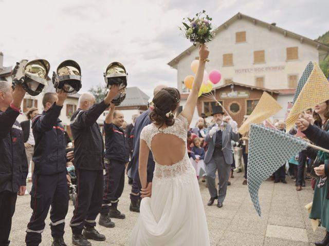 Le mariage de Laurent et Léa à Mieussy, Haute-Savoie 37