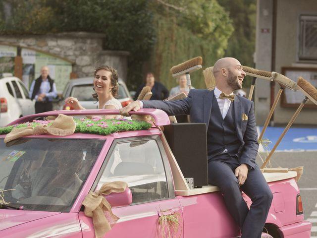 Le mariage de Laurent et Léa à Mieussy, Haute-Savoie 38