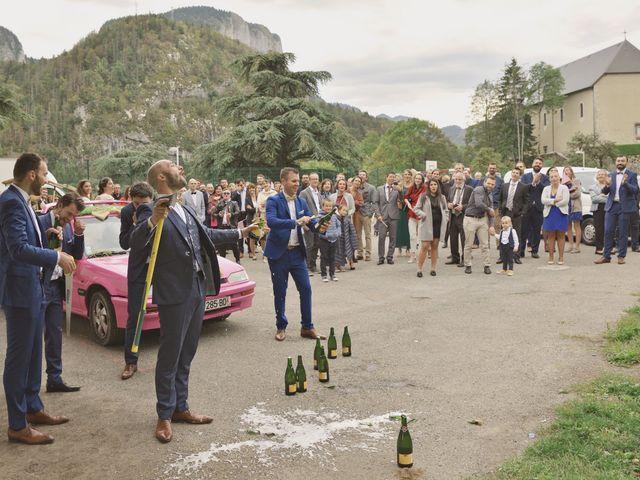 Le mariage de Laurent et Léa à Mieussy, Haute-Savoie 41
