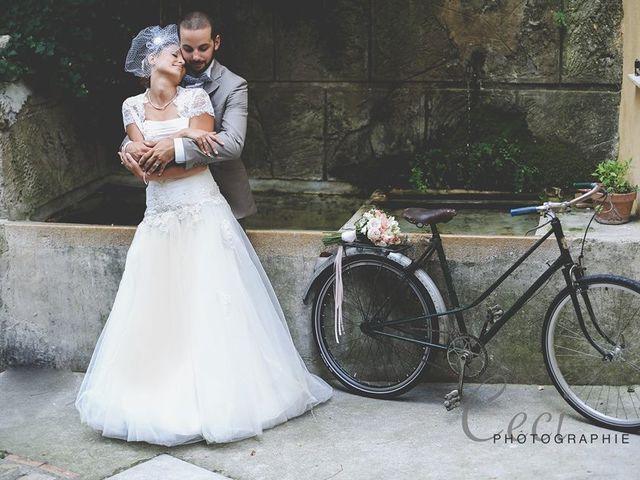 Le mariage de Stéphanie et Vincent  à Le Bar-sur-Loup, Alpes-Maritimes 1