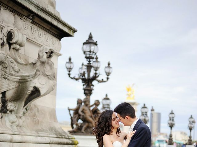 Le mariage de Albert et Irina à Paris, Paris 70