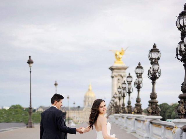 Le mariage de Albert et Irina à Paris, Paris 73