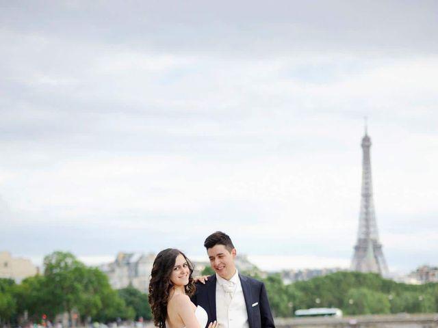 Le mariage de Albert et Irina à Paris, Paris 69