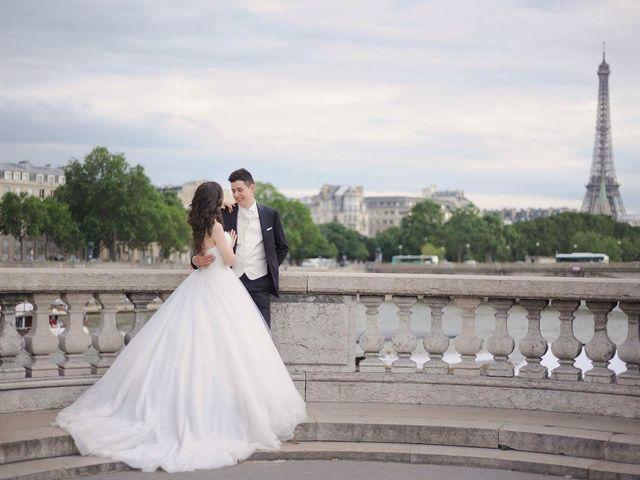Le mariage de Albert et Irina à Paris, Paris 68