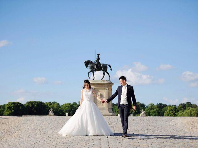 Le mariage de Albert et Irina à Paris, Paris 54