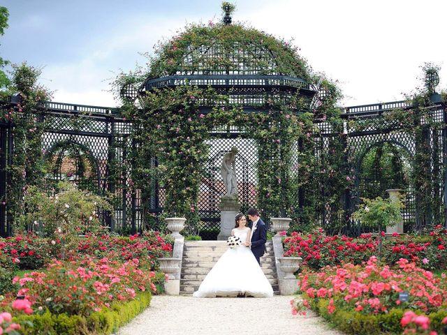 Le mariage de Albert et Irina à Paris, Paris 19