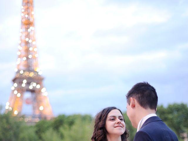 Le mariage de Albert et Irina à Paris, Paris 87