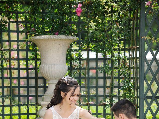 Le mariage de Albert et Irina à Paris, Paris 99