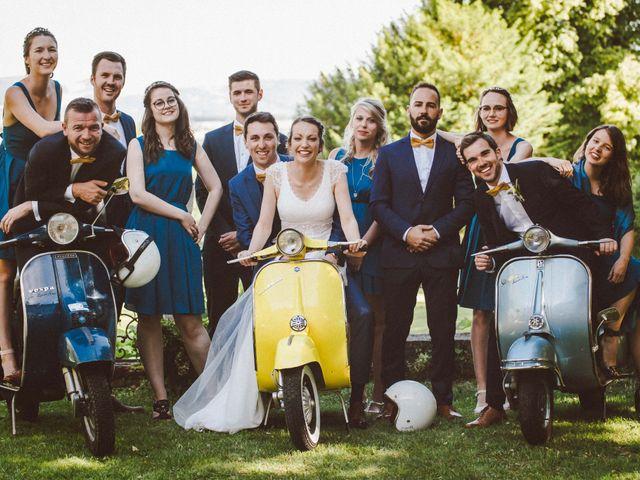 Le mariage de Sébastien et Emma à Saint-Laurent-de-Chamousset, Rhône 33