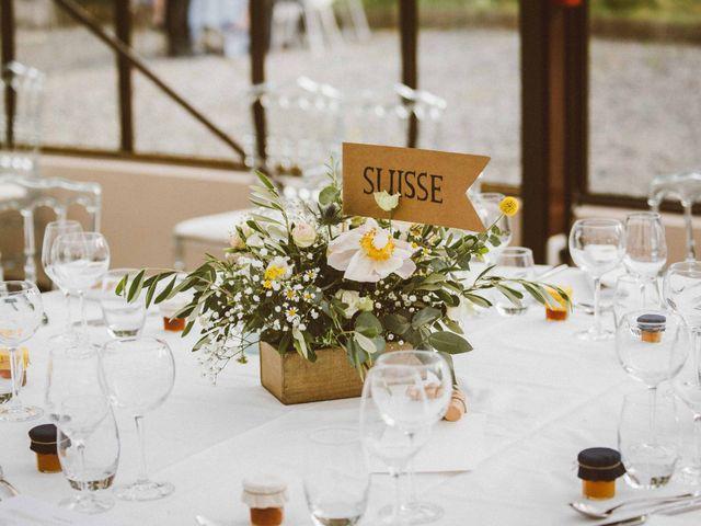 Le mariage de Sébastien et Emma à Saint-Laurent-de-Chamousset, Rhône 43