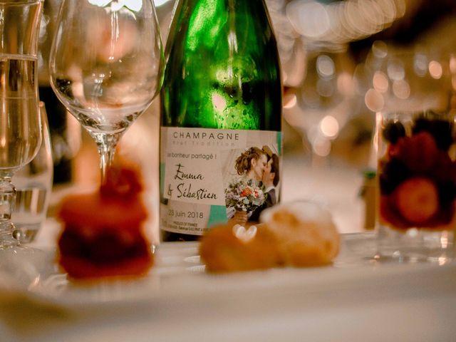 Le mariage de Sébastien et Emma à Saint-Laurent-de-Chamousset, Rhône 49