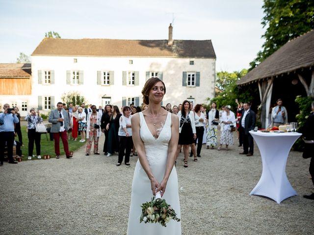 Le mariage de Guillaume et Stéphanie à Festigny, Yonne 56