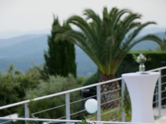 Le mariage de Armelle et Francois Xavier à Le Tignet, Alpes-Maritimes 7