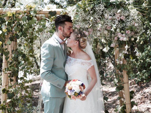 Le mariage de Pierre et Marine à Saint-Marcel-d'Ardèche, Ardèche 9