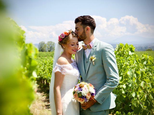 Le mariage de Pierre et Marine à Saint-Marcel-d'Ardèche, Ardèche 14
