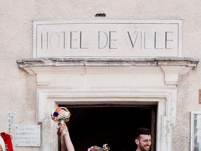 Le mariage de Pierre et Marine à Saint-Marcel-d'Ardèche, Ardèche 16