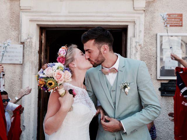 Le mariage de Pierre et Marine à Saint-Marcel-d'Ardèche, Ardèche 17