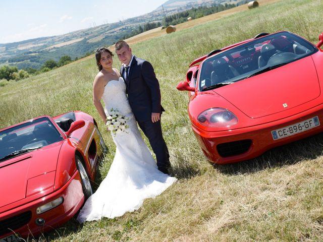 Le mariage de Florian et Laurie à Saint-Laurent-d'Agny, Rhône 1