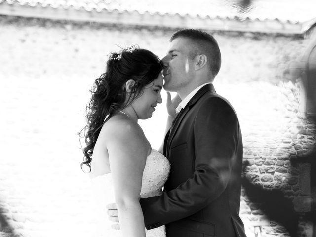 Le mariage de Florian et Laurie à Saint-Laurent-d'Agny, Rhône 10