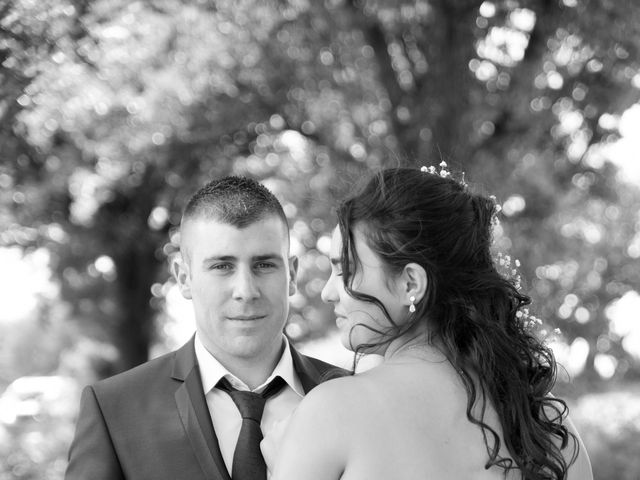 Le mariage de Florian et Laurie à Saint-Laurent-d'Agny, Rhône 13