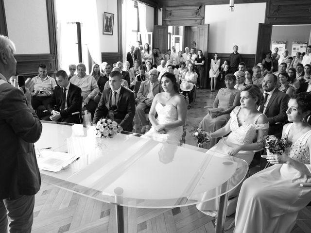 Le mariage de Florian et Laurie à Saint-Laurent-d'Agny, Rhône 25