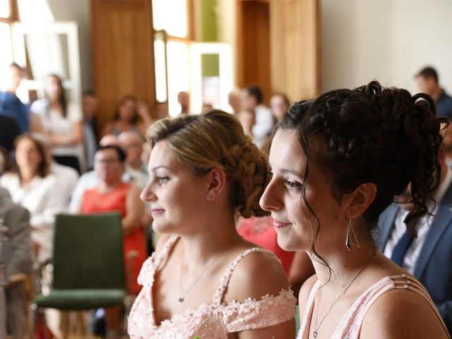Le mariage de Florian et Laurie à Saint-Laurent-d'Agny, Rhône 27