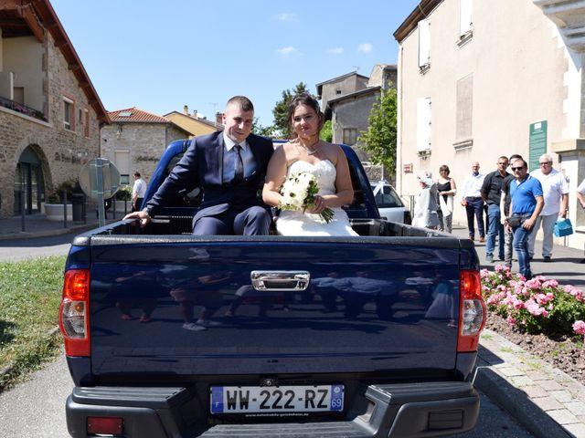 Le mariage de Florian et Laurie à Saint-Laurent-d'Agny, Rhône 40
