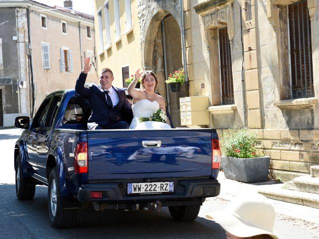 Le mariage de Florian et Laurie à Saint-Laurent-d'Agny, Rhône 41