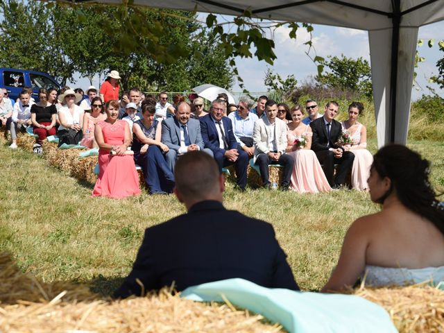 Le mariage de Florian et Laurie à Saint-Laurent-d'Agny, Rhône 45