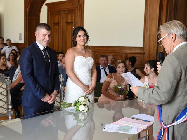 Le mariage de Florian et Laurie à Saint-Laurent-d'Agny, Rhône 33
