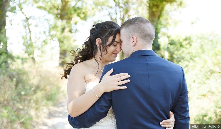 Le mariage de Florian et Laurie à Saint-Laurent-d'Agny, Rhône