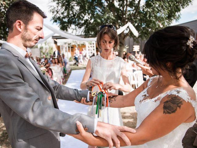 Le mariage de Jeff et Luçie à Landrais, Charente Maritime 9