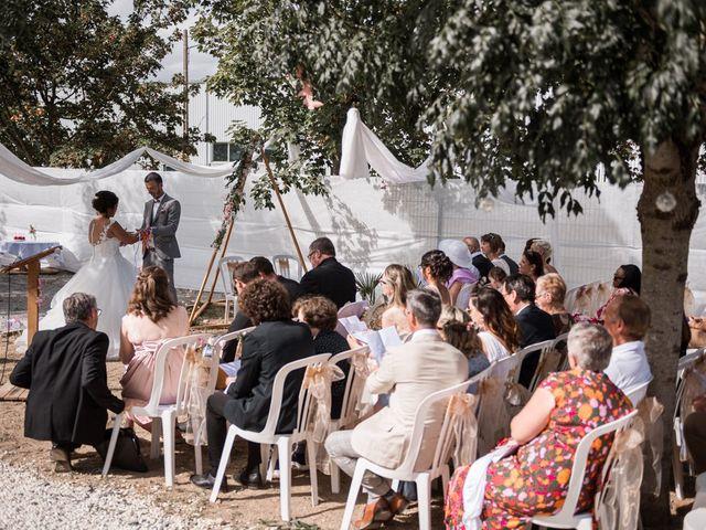 Le mariage de Jeff et Luçie à Landrais, Charente Maritime 11