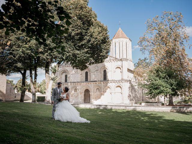 Le mariage de Jeff et Luçie à Landrais, Charente Maritime 1