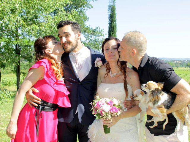 Le mariage de Sébastien et Elodie à Nîmes, Gard 43